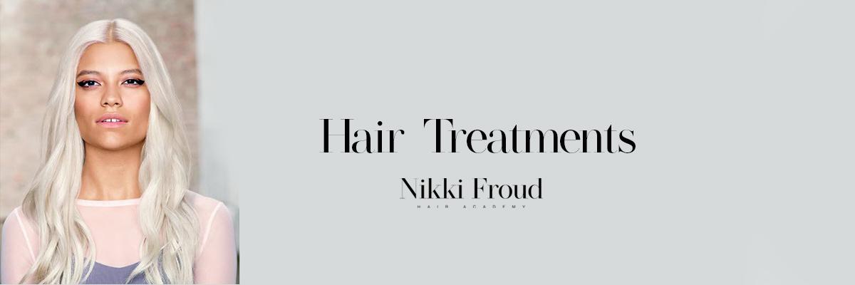 HAIR TREATMENTS Nikki Froud Hairdressing Salon Lee On The Solent Gosport and Fareham