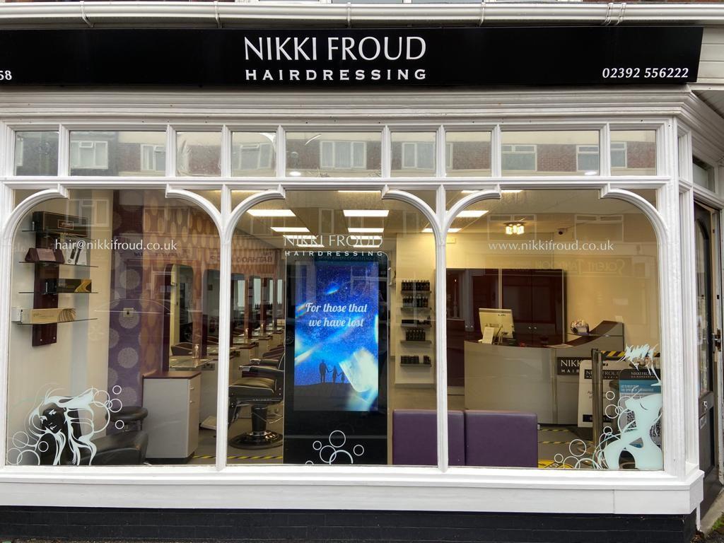 Nikki Froud Hairdressing Salon Lee on the Solent