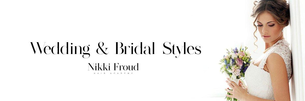 Wedding Bridal Styles Nikki Froud Hairdressing Salon Lee On The Solent Gosport and Fareham